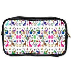 Birds Fish Flowers Floral Star Blue White Sexy Animals Beauty Rainbow Pink Purple Blue Green Orange Toiletries Bags by Mariart
