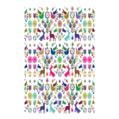 Birds Fish Flowers Floral Star Blue White Sexy Animals Beauty Rainbow Pink Purple Blue Green Orange Shower Curtain 48  X 72  (small)  by Mariart