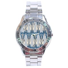 Flower Floral Leaf Beauty Art Stainless Steel Analogue Watch by Mariart