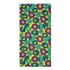 Discrete State Turing Pattern Polka Dots Green Purple Yellow Rainbow Sexy Beauty Shower Curtain 36  X 72  (stall)  by Mariart