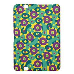 Discrete State Turing Pattern Polka Dots Green Purple Yellow Rainbow Sexy Beauty Kindle Fire Hd 8 9  by Mariart
