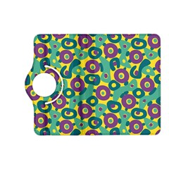Discrete State Turing Pattern Polka Dots Green Purple Yellow Rainbow Sexy Beauty Kindle Fire Hd (2013) Flip 360 Case by Mariart