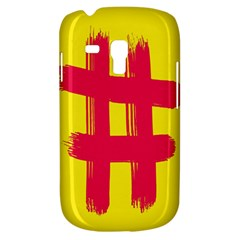 Fun Ain t Gone Fence Sign Red Yellow Flag Galaxy S3 Mini by Mariart
