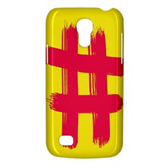 Fun Ain t Gone Fence Sign Red Yellow Flag Galaxy S4 Mini by Mariart