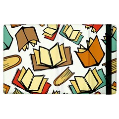 Friends Library Lobby Book Sale Apple Ipad 2 Flip Case by Mariart
