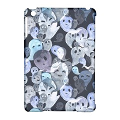 Ghosts Blue Sinister Helloween Face Mask Apple Ipad Mini Hardshell Case (compatible With Smart Cover) by Mariart