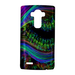 Aurora Wave Colorful Space Line Light Neon Visual Cortex Plate Lg G4 Hardshell Case by Mariart