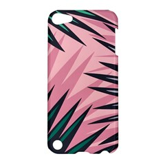 Graciela Detail Petticoat Palm Pink Green Apple Ipod Touch 5 Hardshell Case by Mariart