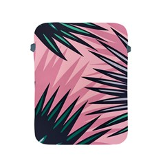 Graciela Detail Petticoat Palm Pink Green Apple Ipad 2/3/4 Protective Soft Cases by Mariart