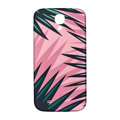 Graciela Detail Petticoat Palm Pink Green Samsung Galaxy S4 I9500/i9505  Hardshell Back Case by Mariart