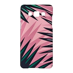 Graciela Detail Petticoat Palm Pink Green Samsung Galaxy A5 Hardshell Case  by Mariart