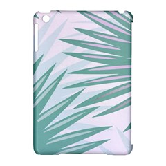 Graciela Detail Petticoat Palm Pink Green Gray Apple Ipad Mini Hardshell Case (compatible With Smart Cover) by Mariart