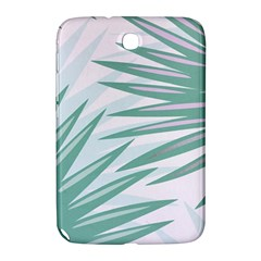 Graciela Detail Petticoat Palm Pink Green Gray Samsung Galaxy Note 8 0 N5100 Hardshell Case  by Mariart
