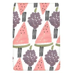 Grapes Watermelon Fruit Patterns Bouffants Broken Hearts Flap Covers (s)  by Mariart