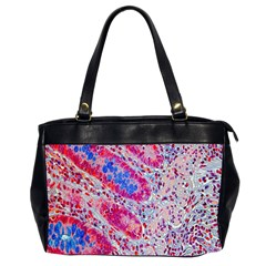 Histology Inc Histo Logistics Incorporated Alcian Blue Office Handbags (2 Sides)  by Mariart