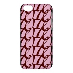 Letter Font Zapfino Appear Apple Iphone 5c Hardshell Case by Mariart