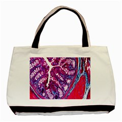Histology Inc Histo Logistics Incorporated Masson s Trichrome Three Colour Staining Basic Tote Bag by Mariart
