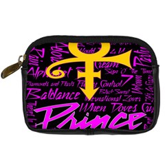 Prince Poster Digital Camera Cases by Onesevenart