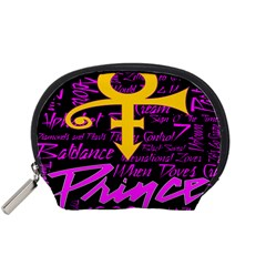 Prince Poster Accessory Pouches (small)  by Onesevenart