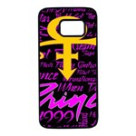 Prince Poster Samsung Galaxy S7 Black Seamless Case
