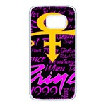 Prince Poster Samsung Galaxy S7 White Seamless Case
