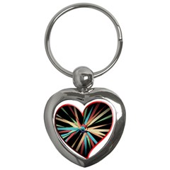 Above & Beyond Key Chains (heart)  by Onesevenart