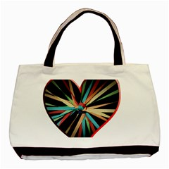 Above & Beyond Basic Tote Bag by Onesevenart