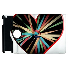 Above & Beyond Apple Ipad 3/4 Flip 360 Case by Onesevenart