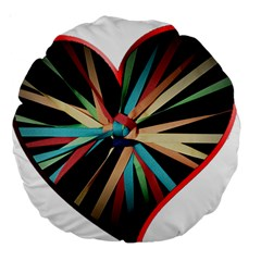 Above & Beyond Large 18  Premium Round Cushions by Onesevenart