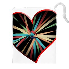 Above & Beyond Drawstring Pouches (xxl) by Onesevenart