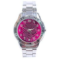 Above & Beyond Sticky Fingers Stainless Steel Analogue Watch by Onesevenart
