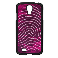 Above & Beyond Sticky Fingers Samsung Galaxy S4 I9500/ I9505 Case (black) by Onesevenart