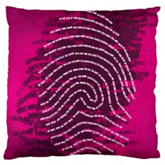 Above & Beyond Sticky Fingers Standard Flano Cushion Case (one Side) by Onesevenart
