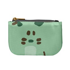 Lineless Background For Minty Wildlife Monster Mini Coin Purses
