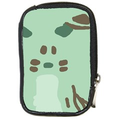 Lineless Background For Minty Wildlife Monster Compact Camera Cases by Mariart