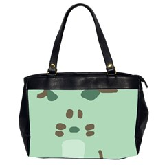 Lineless Background For Minty Wildlife Monster Office Handbags (2 Sides)  by Mariart
