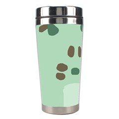 Lineless Background For Minty Wildlife Monster Stainless Steel Travel Tumblers by Mariart