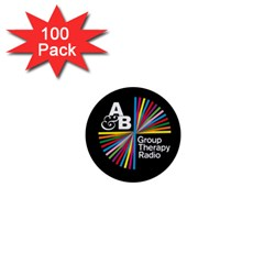 Above & Beyond  Group Therapy Radio 1  Mini Buttons (100 Pack)  by Onesevenart