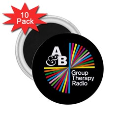 Above & Beyond  Group Therapy Radio 2 25  Magnets (10 Pack)  by Onesevenart