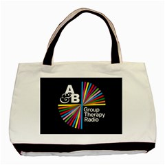 Above & Beyond  Group Therapy Radio Basic Tote Bag by Onesevenart