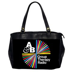 Above & Beyond  Group Therapy Radio Office Handbags (2 Sides)  by Onesevenart