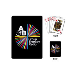 Above & Beyond  Group Therapy Radio Playing Cards (mini)  by Onesevenart