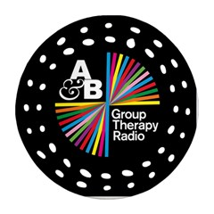 Above & Beyond  Group Therapy Radio Round Filigree Ornament (two Sides) by Onesevenart