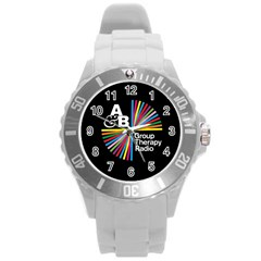 Above & Beyond  Group Therapy Radio Round Plastic Sport Watch (l) by Onesevenart