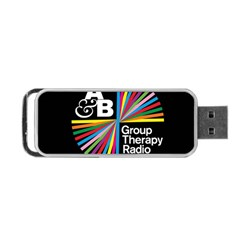 Above & Beyond  Group Therapy Radio Portable Usb Flash (two Sides) by Onesevenart