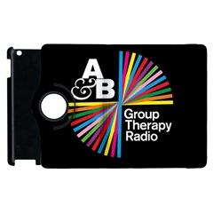 Above & Beyond  Group Therapy Radio Apple Ipad 2 Flip 360 Case by Onesevenart