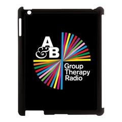 Above & Beyond  Group Therapy Radio Apple Ipad 3/4 Case (black) by Onesevenart