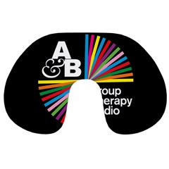 Above & Beyond  Group Therapy Radio Travel Neck Pillows by Onesevenart