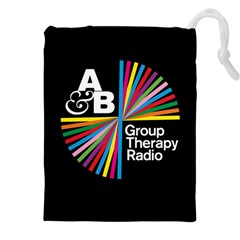 Above & Beyond  Group Therapy Radio Drawstring Pouches (xxl) by Onesevenart