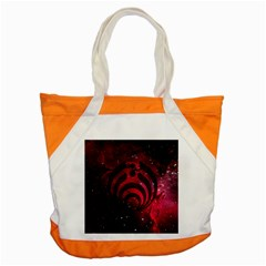 Bassnectar Galaxy Nebula Accent Tote Bag by Onesevenart